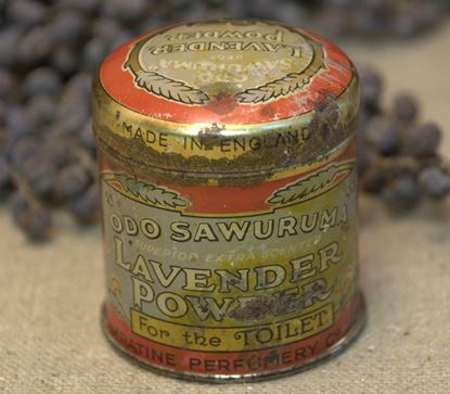 brocante lavender powder