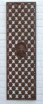 gietijzeren deurrooster