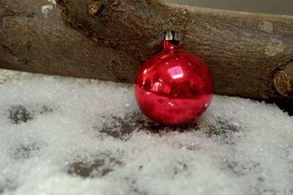 kerstballetje rood