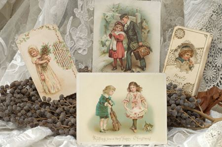 Picture for category CHRISTMAS CARDS (VICTORIAN)