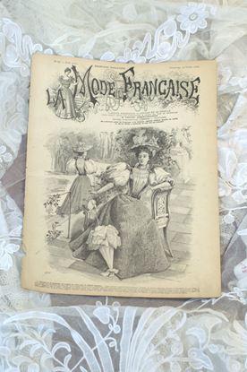 oud frans victoriaans modetijdschrift