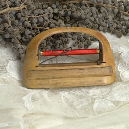 vintage spoel weefgetouw