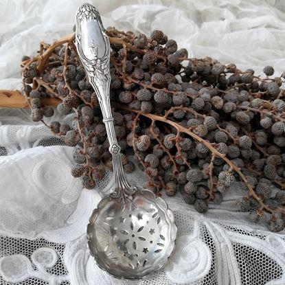 brocante zilveren suikerstrooier
