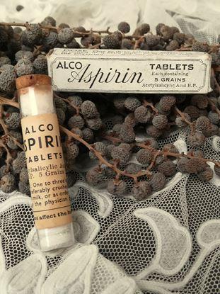 vintage aspirine verpakking