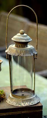 brocante ijzeren lantaarn