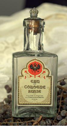 vintage flesje eau de cologne Russe