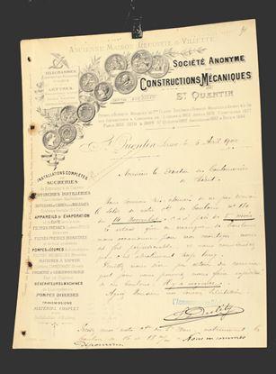 OUDE FRANSE NOTA UIT 1900
