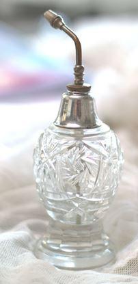 antiek geslepen parfumverstuiver