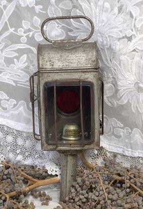 oude  antieke koetslamp