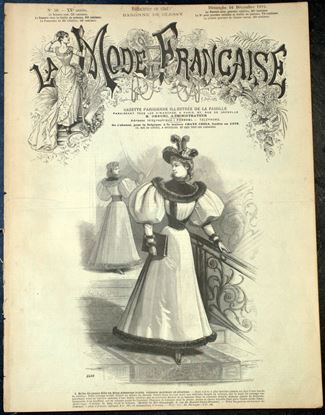 "Picture of OLD FRENCH FASHION MAGAZINE ""LA MODE FRANCAISE""*SOLD*"