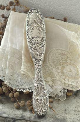 vintage antieke haarborstel uit 1904