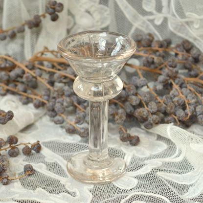 Bild von ANTIKE VICTORIAN 'PENNY LICK' GLAS