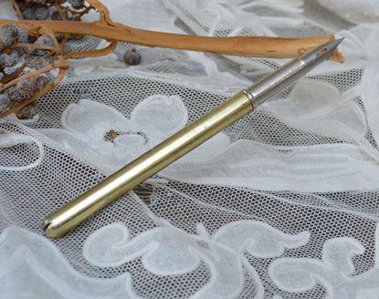 brocant metalen vulpen