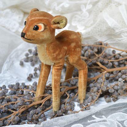 oud pluchen steiff hertje bambi