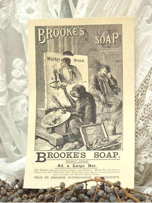 oude reclame brook's zeep