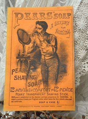 vintage pears scheerreclame