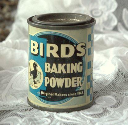 brocante blikje bakingpowder